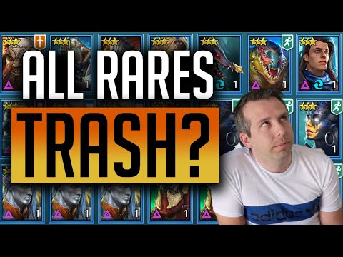 RAID: Shadow Legends | All Rares Reviewed! | Who is food and who should you invest in?!