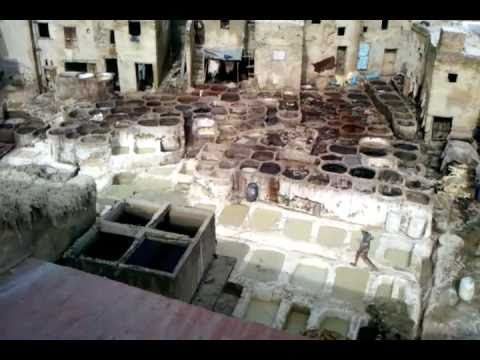 Fez (Morocco) – Tannery in Old Medina