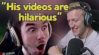 Tfue Reacts to Our Montage