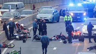 Dirt Bikes, Four Wheelers vs Boston and Massachusetts State Police