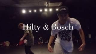 Hilty&Bosch(Jin,You) with THE CHALLENGER(Yuji,Kuromegane,Shota)