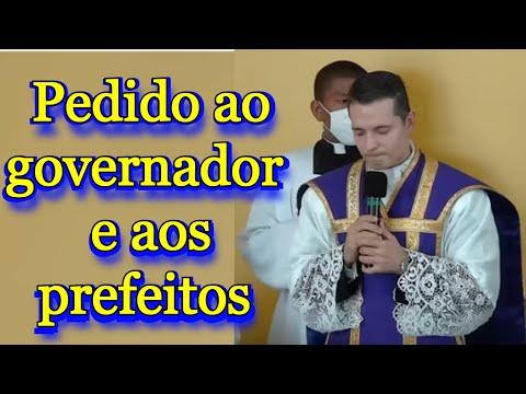 Padre Overland Costa: Governador e aos Prefeitos, não tenham a Deus como adversário