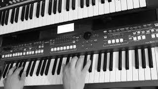 Daft Punk feat  Pharrell Williams Lose Yourself to Dance Yamaha PSR s670 Korg x50 Funky Cover