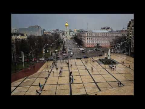 Kiev Time-Lapse from St. Michaels Bell Tower