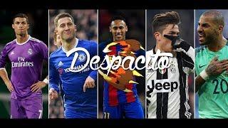 Best Football Skills Mix Despacito Dybala Ronaldo Hazard Benzema Neymar Messi