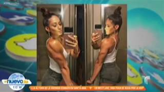 ⭐️NPC Figure Janice Garay featured on television in New York City