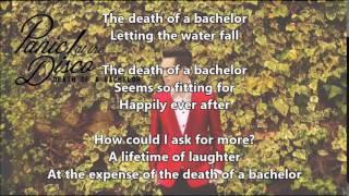 Panic! At The Disco - Death Of A Bachelor Lyrics
