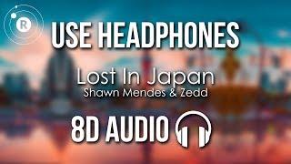 Shawn Mendes & Zedd - Lost In Japan (8D AUDIO)