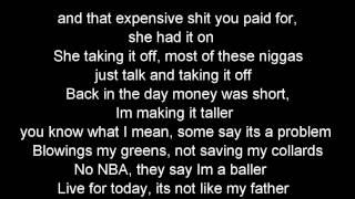 Wiz Khalifa - When I'm Gone (Lyrics On Screen)