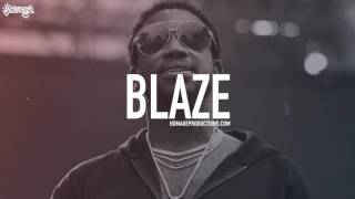 "[FREE] Gucci Mane Type Beat Hard Piano Trap Hip Hop Instrumental 2017 / ""Blaze"" (Prod. Homage)"