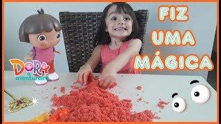 Brincando de MASSINHA DE AREIA - AREIA DIVERTIDA - KINETIC SAND| NaLu Kids