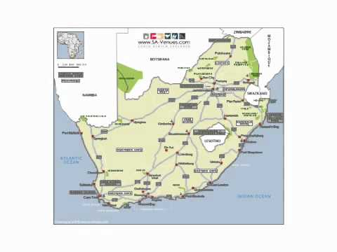 Cities and Towns in South Africa