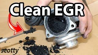 Fixing EGR Low Flow Code P0401