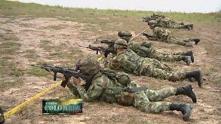 Soldados de la Fuerza de Despliegue Rápido se preparan para el cumplimiento de la misión