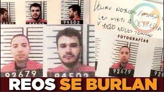 Reos fugados se burlan dejando mensajes en sus celdas #Sinaloa