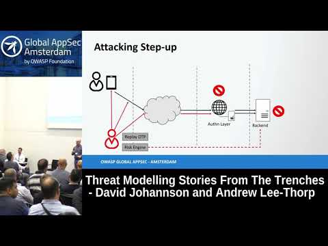 Threat Modelling Stories From The Trenches - David Johannson and Andrew Lee-Thorp
