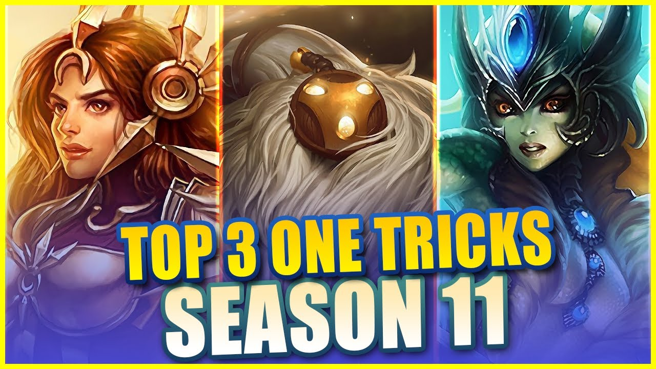 Lohpally - THESE ARE THE TOP 3 SUPPORTS TO ONE-TRICK IN SEASON 11 - League of Legends