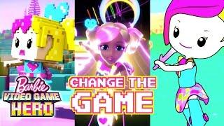 """Change the Game"" Lyric Music Video | Barbie Video Game Hero | Barbie"