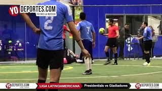 Presidentials vs. Gladiadores Semifinal Liga Latinoamericana Jueves