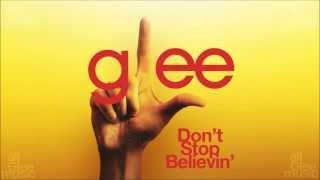 Don't Stop Believin' | Glee [HD FULL STUDIO]