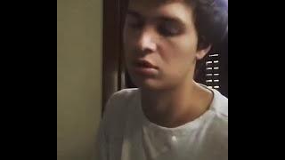 Ansel Elgort singing, Let Me Love You by DJ Snake ft. Justin Bieber