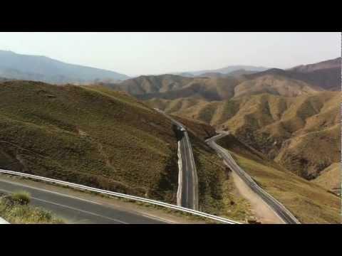 Efy Din on Tizi N Tchika Pass Morocco Desi Biker Scotland