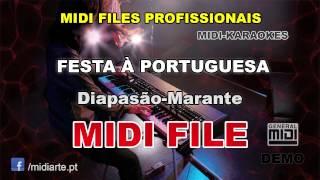 ♬ Midi file  - FESTA À PORTUGUESA - Diapasão-Marante