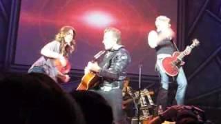 Gloriana: live singing, You Said