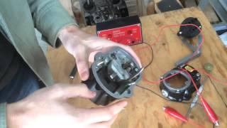 Triumph Morris Magneto Tach Drive Timing Installation 3