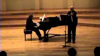 Per Bokelund y Rafael Prieto / El amor por tres naranjas (Prokofieff-Heifetz)