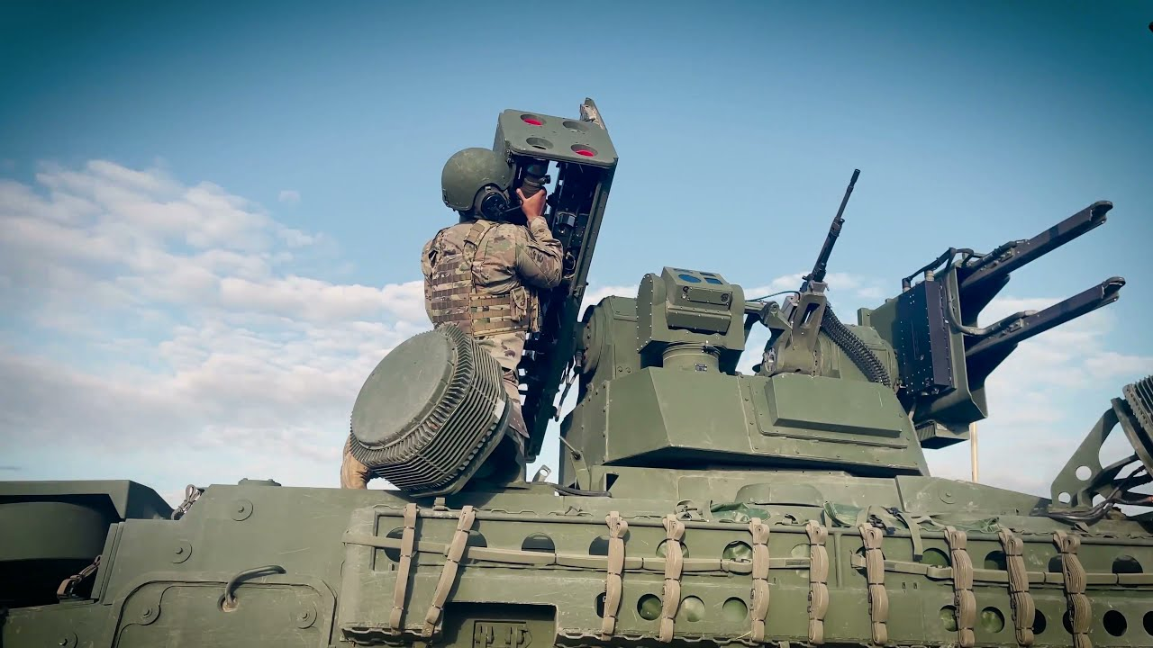 US Military • 4th Air Defense Artillery • First to Live-Fire the new M-SHORAD System in Europe