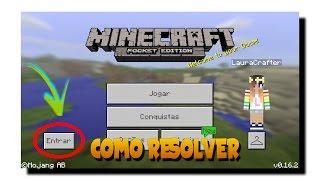 Como Resolver Erro de Não Conseguir Entrar na Xbox Live [MCPE/Minecraft PE]