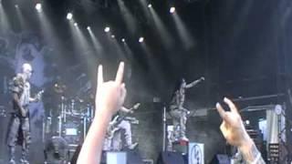 Dimmu Borgir - The Chosen Legacy Soundwave Brisbane 2011