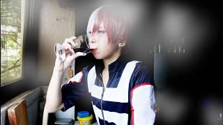 BNHA- Todoroki Shoto cosplay (OOC HAHA)