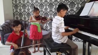 Faded - Piano Violin Cello