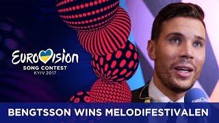 Sweden: Robin Bengtsson wins Melodifestivalen!