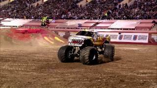 Monster Jam - Team Hot Wheels Firestorm Freestyle from Las Vegas - March 23, 2013