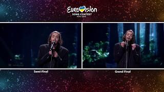 Eurovision 2017-Portugal-Salvador Sobral-Amar Pelos Dois:Semi-Final vs Grand Final