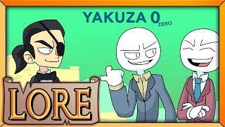 YAKUZA 0: Fighting Over a Vacant Lot | LORE in a Minute! | Kazama Kiryu & Goro Majima | LORE