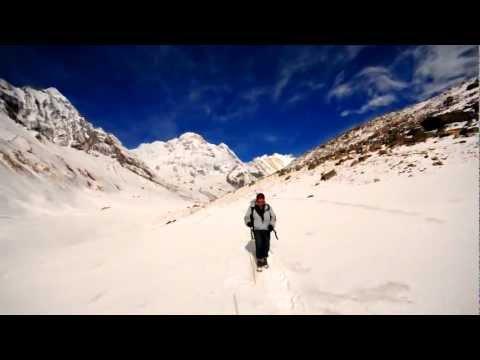 Nepal annapurna basecamp trekking