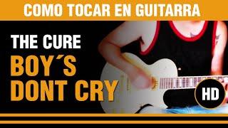 DEMO COVER de Como tocar Boys dont´t cry de The cure en guitarra, toda la cancion explicada !!