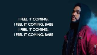 (Lyrics) I Feel It Coming - The Weekend (Jako Diaz Remix ft. RollUpHills)