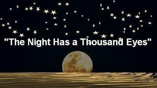 The Night Has a Thousand Eyes (Jazz Standard)