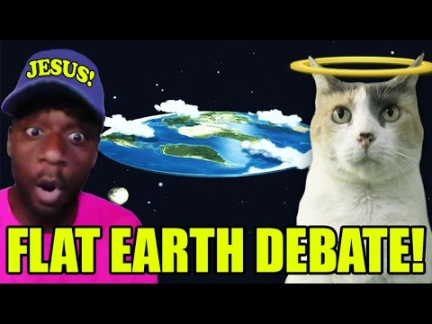 Flat Earth Debate with G MAN!!!