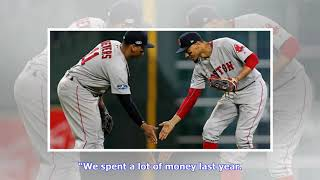 Red Sox want Betts for 'whole baseball career'