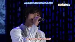 SS501 - Because I'm Stupid Live [Sub Español + Karaoke]