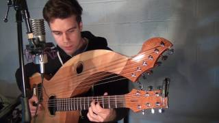 Another Brick In The wall - Pink Floyd - Harp Guitar/vocal Cover - Jamie Dupuis