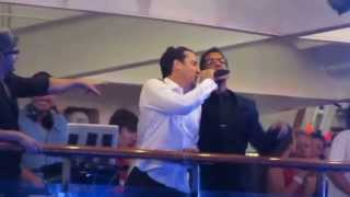 """Retro Night NKOTB cruise 2013 Donnie, Jon and Danny sing """"Just a friend"""""""