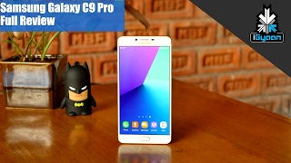 Samsung Galaxy C9 Pro In-Depth Review Video