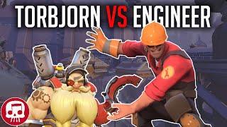 TORBJORN VS ENGINEER RAP BATTLE by JT Music (Overwatch vs TF2)